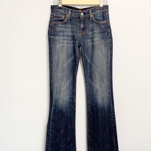 ✔️7 FOR ALL MANKIND-Classic Bootcut Jean. Size 25